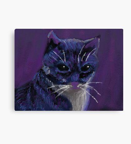 Dark Feline Canvas Print