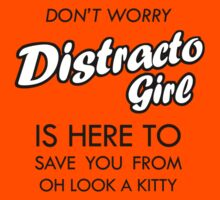 Distracto Girl Is Here! Oh Look A Kitty Kids Clothes