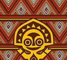 Polynesian Tiki  by Jou Ling Yee