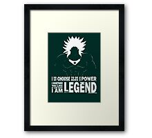 Broly - Legend Framed Print