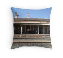 Elmore Station Throw Pillow