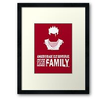 Gohan - Family Framed Print