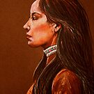 Raven Detail #2 by Susan Bergstrom