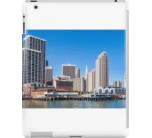 The Embarcadero, San Francisco, California iPad Case/Skin