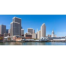 The Embarcadero, San Francisco, California Photographic Print