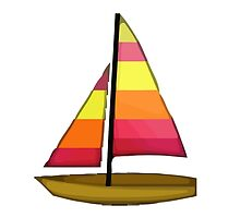 Sailboat Apple / WhatsApp Emoji by emoji