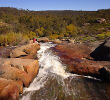 Hovea Falls from the top by georgieboy98