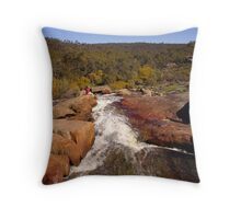 Hovea Falls from the top Throw Pillow