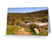 Landscape of John Forrest National Park Greeting Card