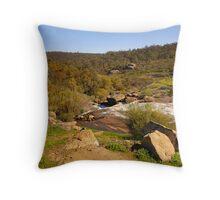 Landscape of John Forrest National Park Throw Pillow