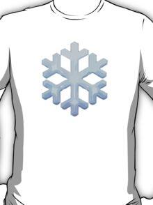 Snowflake Apple / WhatsApp Emoji T-Shirt