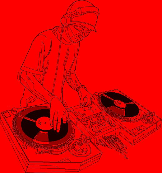 DJ by THE  WULFLAND