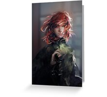 Kvothe Greeting Card