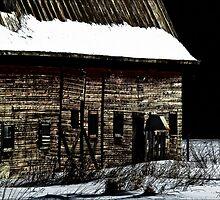 Barn in winter by Theodore Black