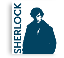 Sherlock - Self Explanatory  Canvas Print