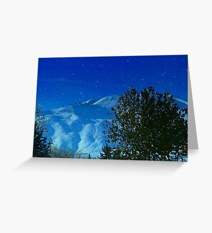 Washington Snow Greeting Card
