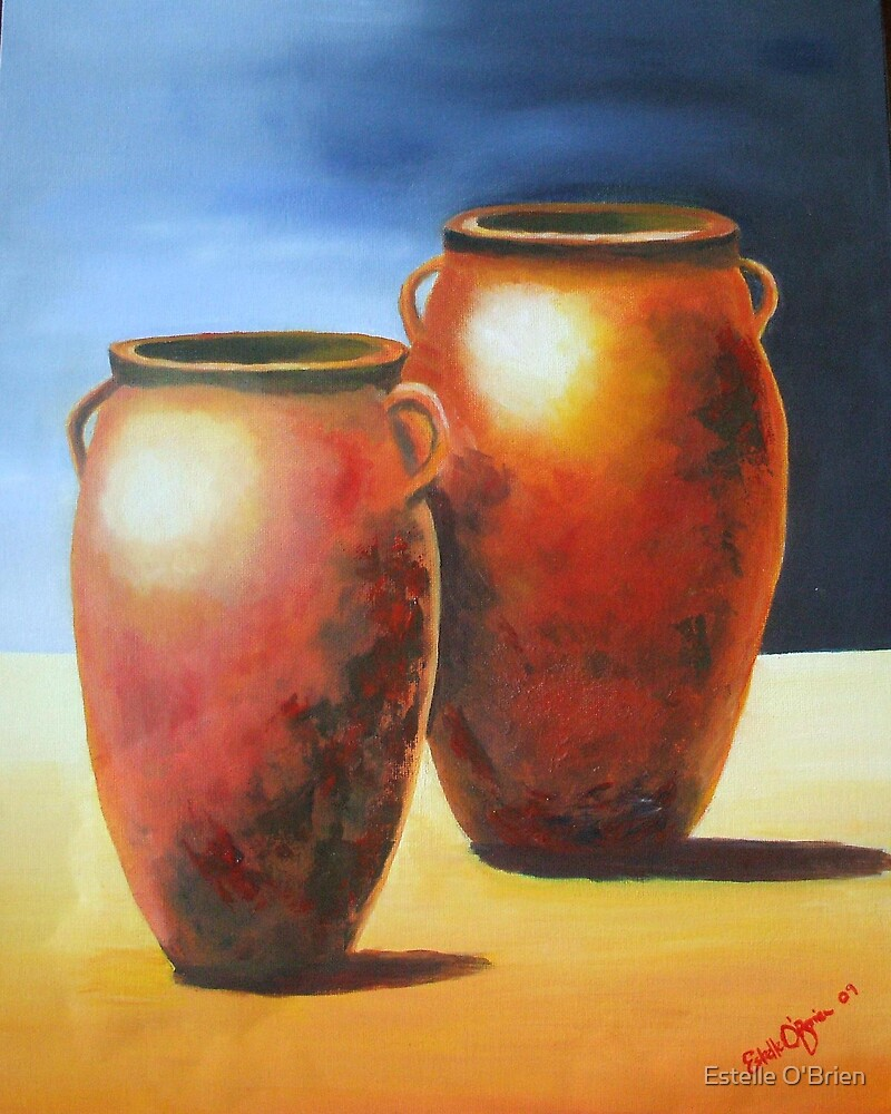 Mediterranean Pots by Estelle O'Brien