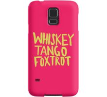 Whiskey Tango Foxtrot - Color Edition Samsung Galaxy Case/Skin