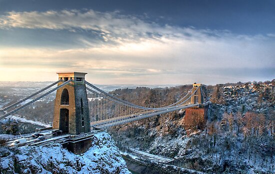 Clifton Suspension Bridge by Alan Watt