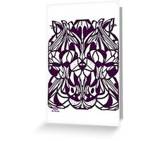 CATZ RULE COLOURING-IN PIC Greeting Card