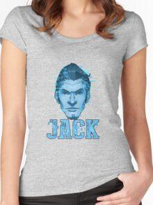 Handsome Jack - Hologram Women's Fitted Scoop T-Shirt