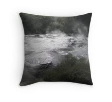 Hot mud! Throw Pillow