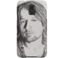Keith Urban in Pencil Samsung Galaxy Case/Skin