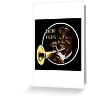 Louis Armstrong - Blow Pops Greeting Card