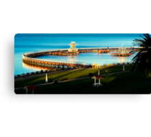 Eastern Beach Geelong Canvas Print