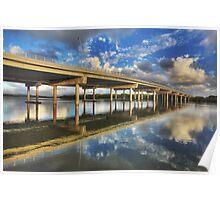 Maroochy River Bridge-1620-HDR Poster