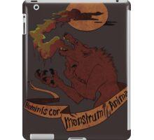 Human Heart, Monster Soul iPad Case/Skin