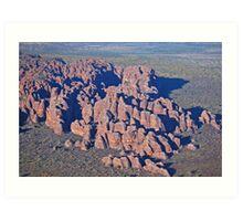 The Bungle Bungles, Purnululu National Park, Western Australia Art Print