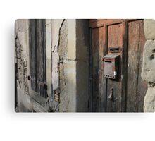 Postbox Canvas Print