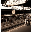 Baden Baden Train station Germany by lukelorimer