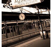 Baden Baden Train station Germany by lukelorimer