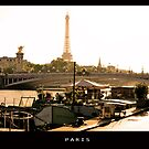 Eiffel Paris by lukelorimer