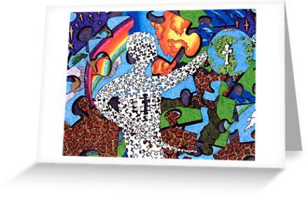 """""""Puzzle Man"""" by Bradley Shawn  Rabon"""