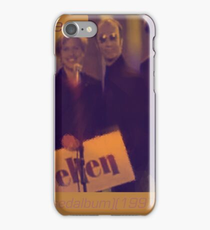 Bee Gees - An Irresistible Force(Unreleased album)(1997)(CD)(Cover art my version)(C2015) iPhone Case/Skin