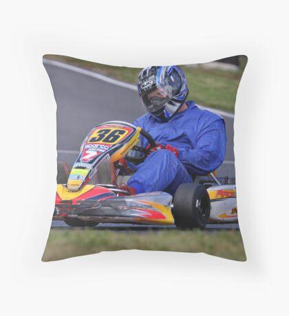 Kart 38 Throw Pillow