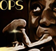 Louis Armstrong - Blow Pops Sticker