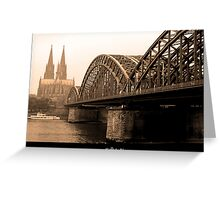 Cologne Germany Köln Greeting Card