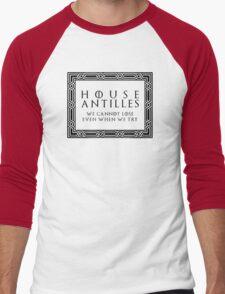 House Antilles (black text) Men's Baseball ¾ T-Shirt