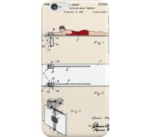 Surfboard Patent - Colour iPhone Case/Skin