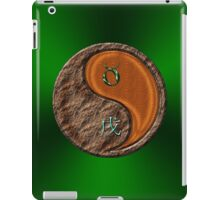 Taurus & Dog Yang Wood iPad Case/Skin