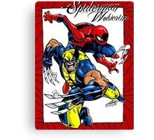 Thwip and Snikt Canvas Print