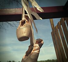 Pointe Shoes on the Playground  by theLadyofShalot