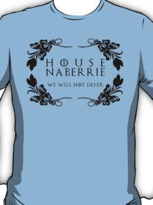 House Naberrie (black text) T-Shirt