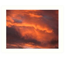 Perth Sunset Art Print