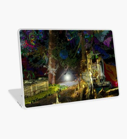 lightning dream Laptop Skin