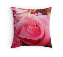 Pink is My Favorite Color Throw Pillow